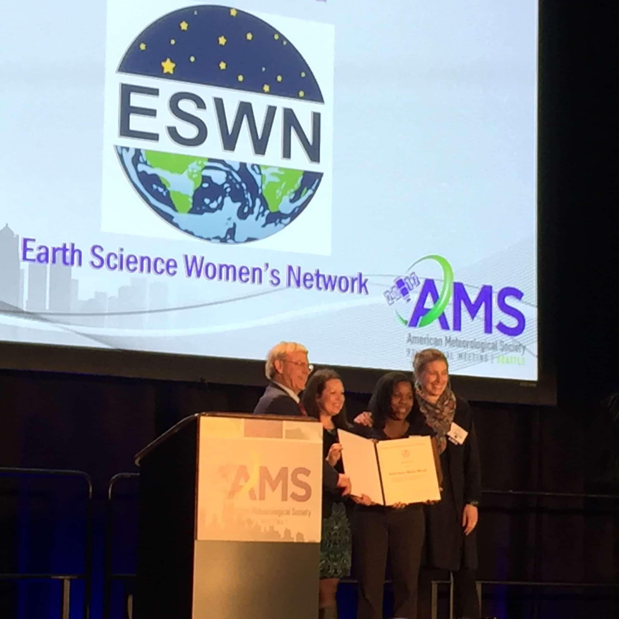 AMS award photo