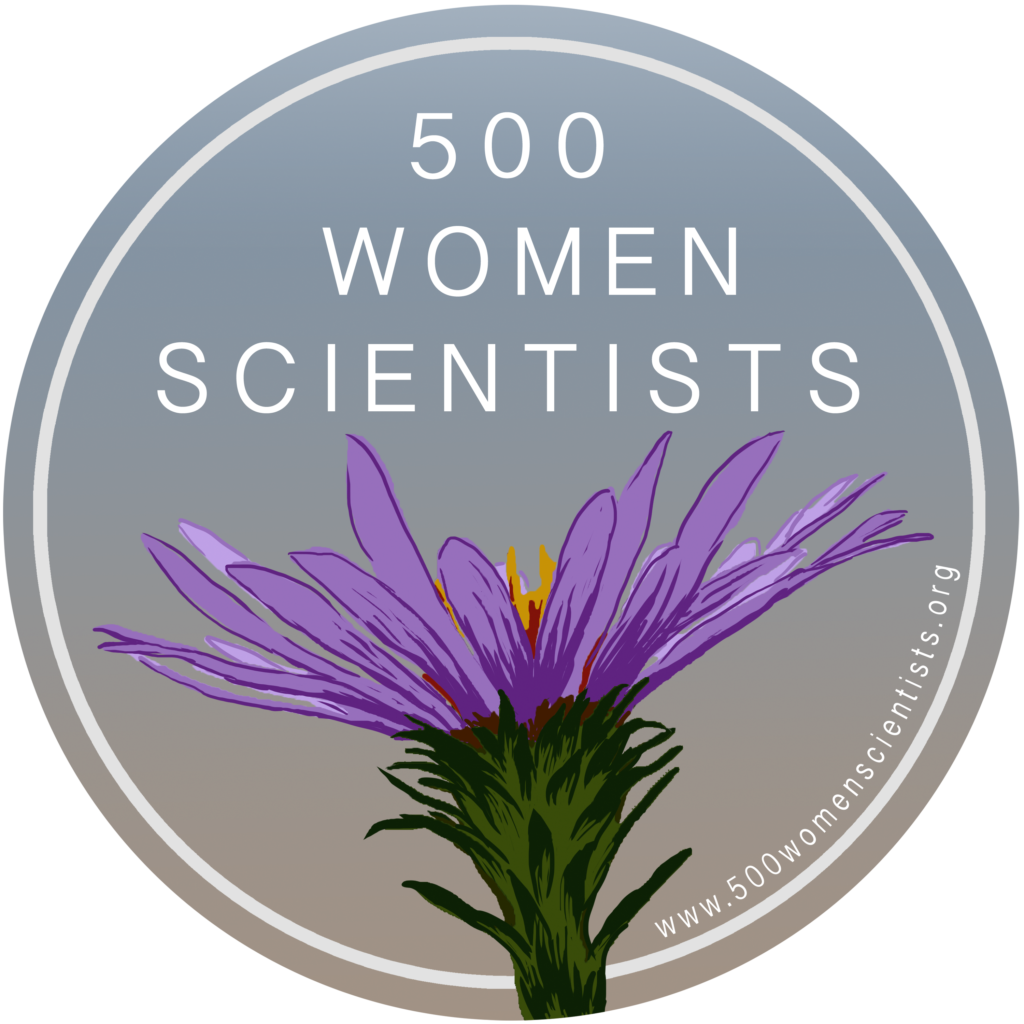 500 Women Scientists Logo