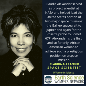 Image of Claudia Alexander.