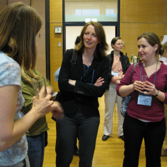 ESWN reception at 2009 EGU conference in Vienna
