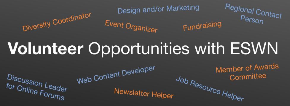 Volunteer Opportunities slider