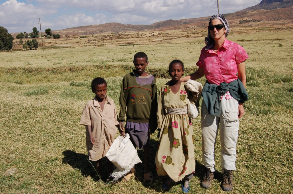The shepherdess girl insisted on working with Valery's group at one of their field sites on the Tigray Plateau. Two years ago, the girl attended Mekelle University. She was unable to continue studying, but given that she did not come from a literate family, getting admitted to a university was an astounding achievement.